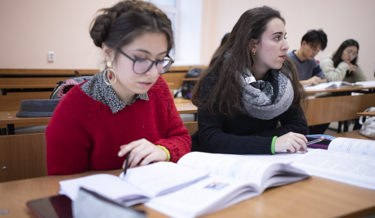 "Italian student Rifatto Simona shares her impressions about her studies in Russia: ""It's really great that Russian universities provide individual approach to each student"""